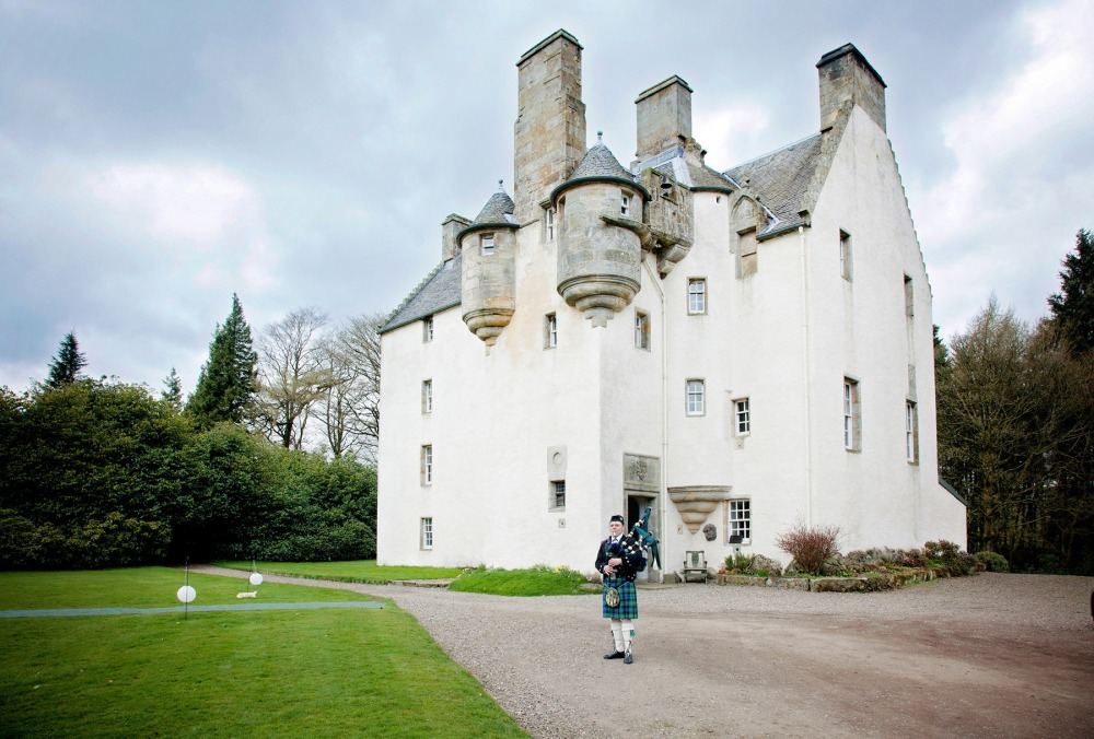 Tullibole Castle, Kinross -