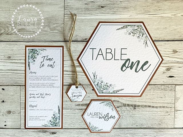 // TIME TO DINE // . Whichever one of our designs you go for we have coordinating on the day stationery too! Ranging from table plans, name cards, menus, order of service, welcome signs & more! . . www.laurareece.net - Facebook - Instagram - Pinterest . #wedding #weddingstationery #weddinginvitations #weddinginvites #rusticwedding #floralwedding #vintagewedding #quirkywedding #invitations #seatingplan #scottishdesigners #weddinginspo #weddingplanning #luxurywedding  #graphicdesigner #graphicdesign #scottishwedding #fife #edinburgh #scotland #advertising #marketing #laurareece #madeinscotland #smallbusiness #luxurywedding #copper #seatingplan #seatingchart #menu #geometric #botanical