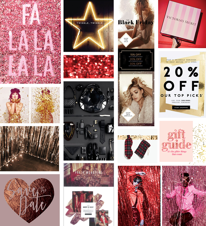 Victoria's Secret design concept and execution - HOLIDAY