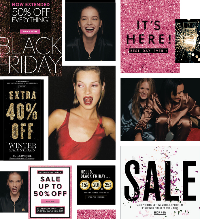 Victoria's Secret design concept and execution - BLACK FRIDAY