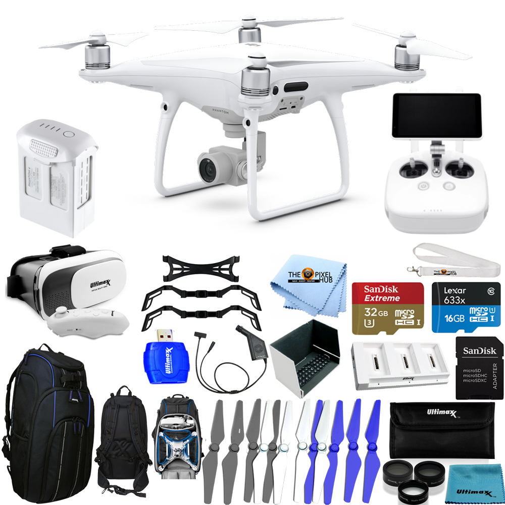 The accessories  - Aside from the obvious kit there is a lot of 'extras' that help make up the package. These include high end sandisk micro SD cards, spare propellers, anemometer, laser distance measurement device, flight hood, carry cases, lipo bags... the list goes on!