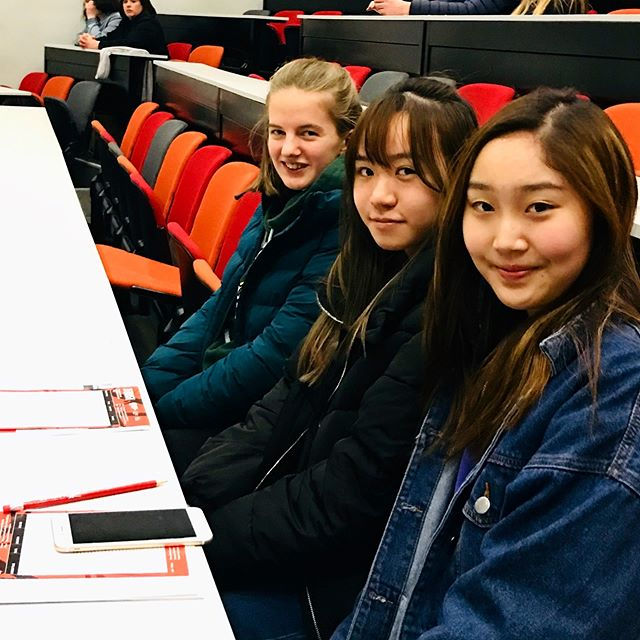 "Why #iloveboarding ❤️ ""I have the opportunity to explore my interests and to discover new things."" -Anna Martin (Year 11)  #throwbackthursday to earlier this month at Queen's University Belfast's Science evening. Where our VCB boarders discovered all the opportunities for these future #womeninstem ! Thank you to @qubelfast for a fun and informative evening!  @bsaboarding @boardingni"