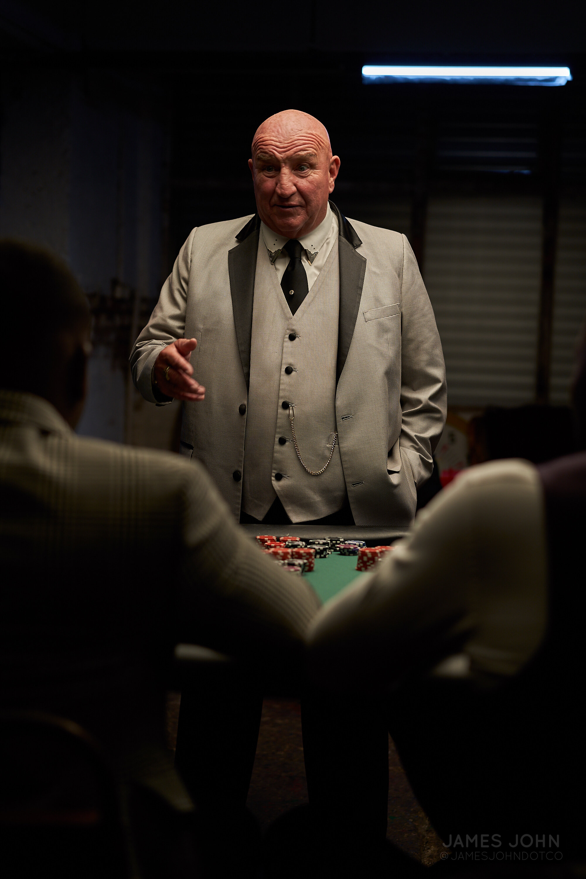 Dave Courtney in 'Playing 4 Keeps' - Photography by James John