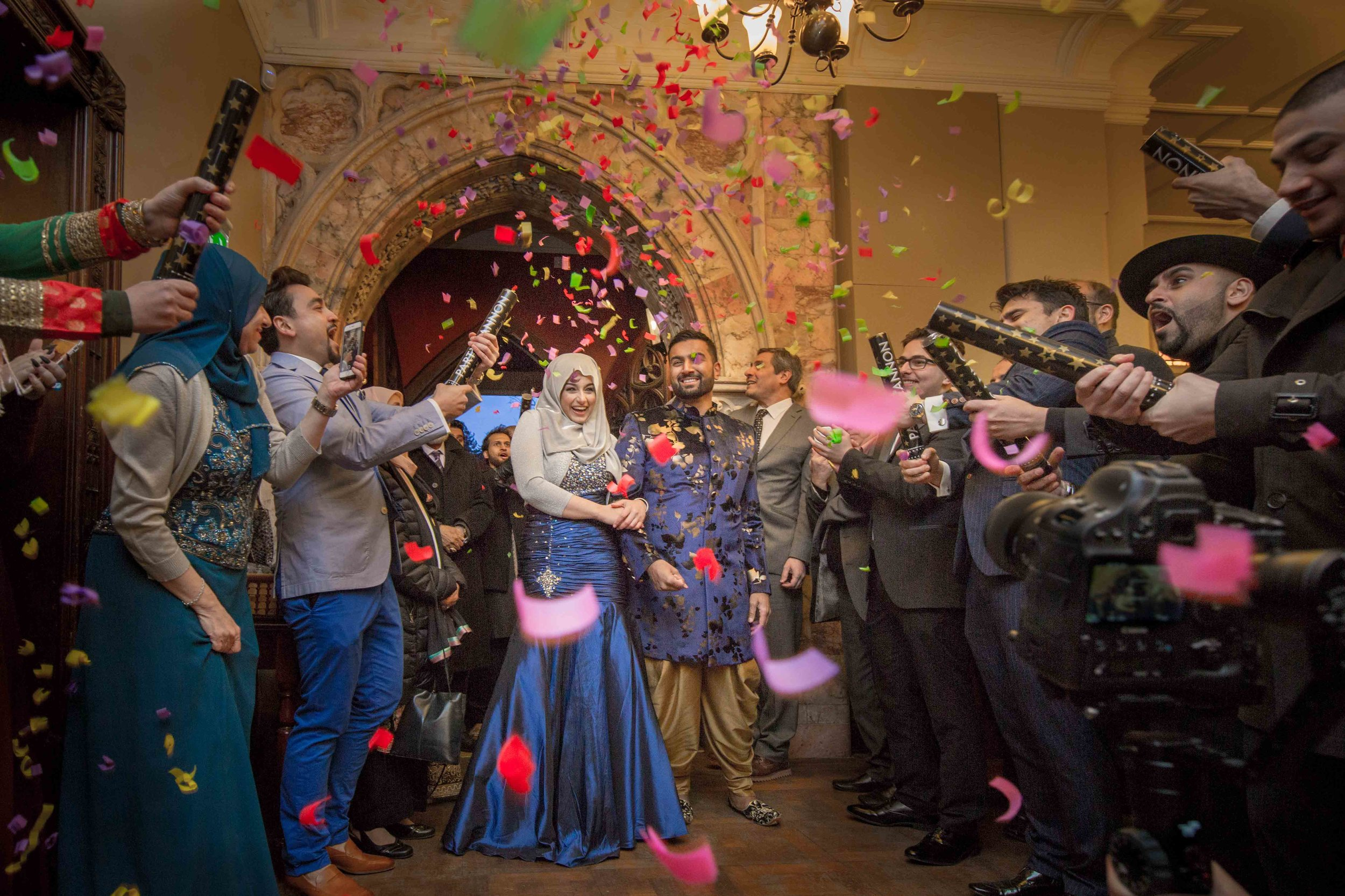 Indian-Palestinian Wedding - Cardiff, Wales