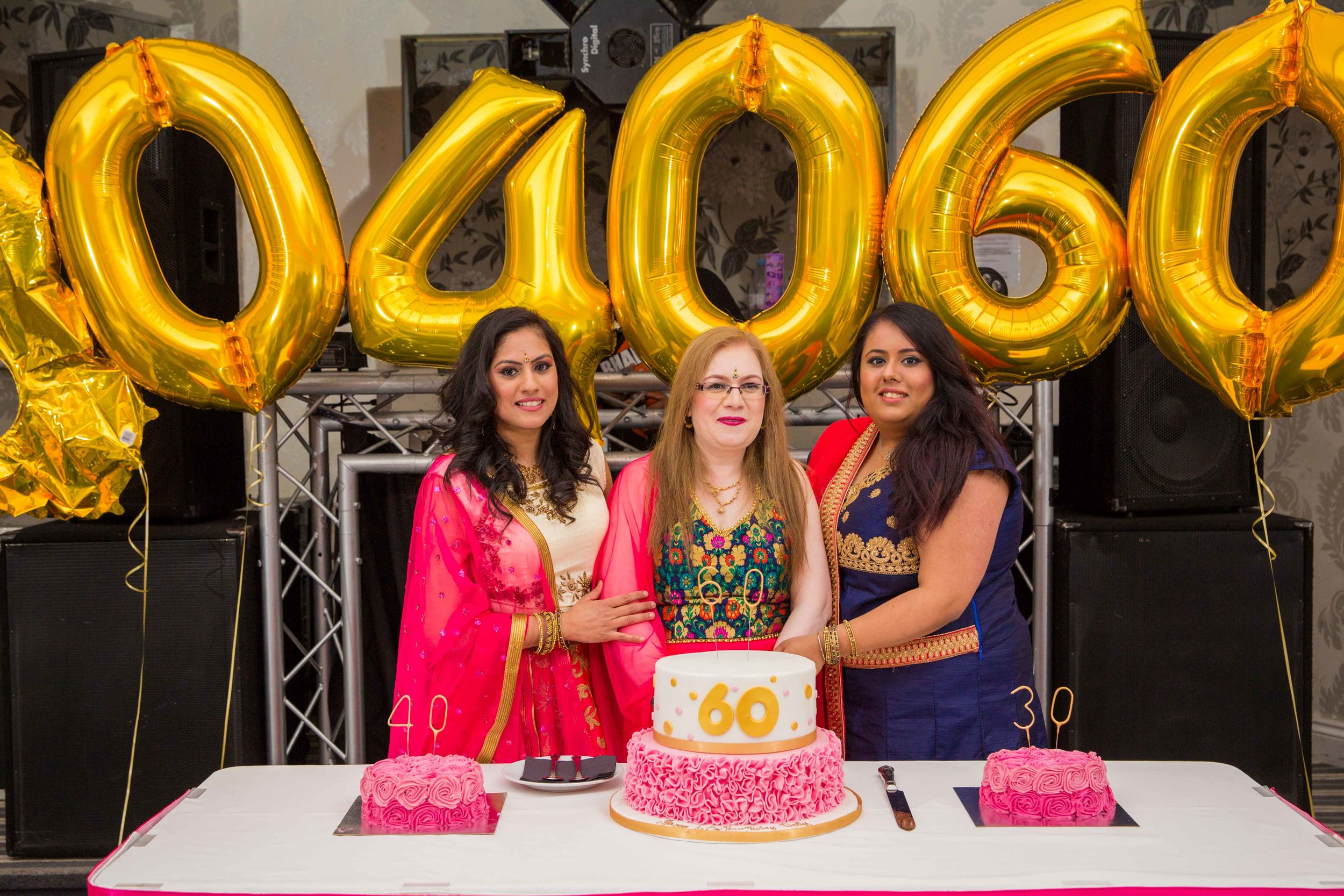 Dolly, Jothi & Rose -