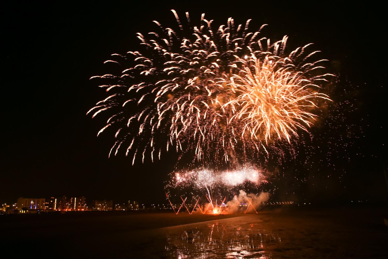 Fireworks at Sea - Weston-Super-Mare