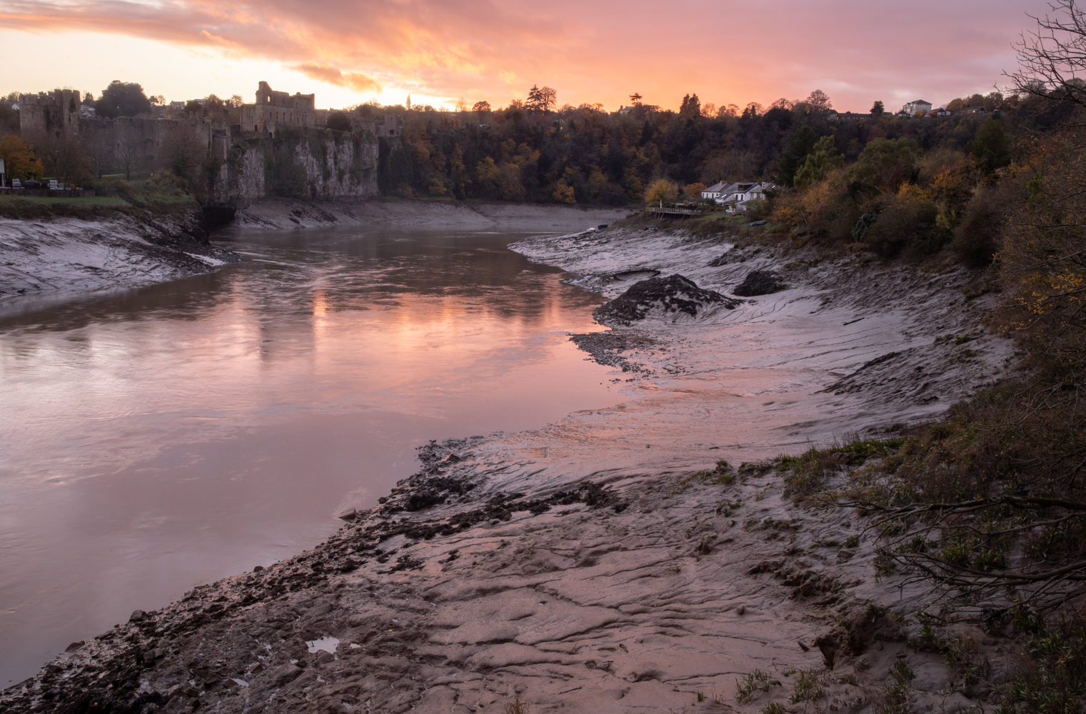 Authentic Autumn - Chepstow   South Wales