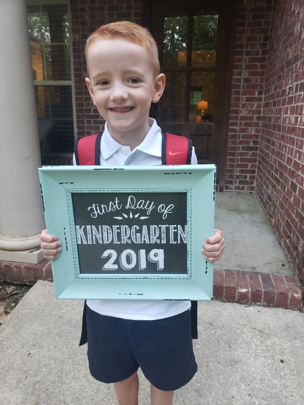 First Day of Kindergarten as it ought to be