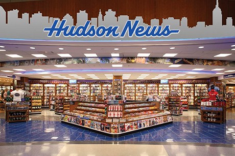 """Hudson News, a.k.a. Resistance HQ, where I will plot the downfall of the airline industry and chuckle to a travel-sized """"The Ultimate Calvin &Hobbes."""