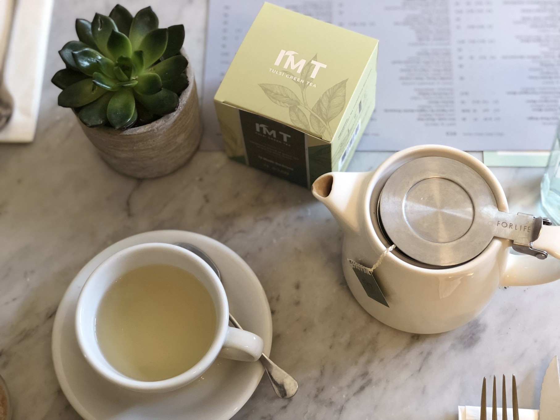 I'M T by The House of Aran, Green Tea, Luxury Organic Tea, Wellbeing, Detox, Mindfulness