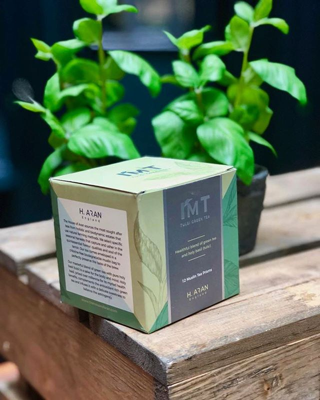 Pure bliss...🌱 why put junk in the body when you have the option to have our masterful Tulsi Green Tea from holistic and biodynamic tea farms using only natural farming practices, encased in cotton pyramids! No 'fannings' or 'dust', no chemical, no pesticides and no synthetic materials in teabags! . . . . . . #christmas #london🇬🇧 #wellbeing #wellness #lifeisbeautiful #healthylifestyle #health #healthiswealth #butfirsttea #tea #greentea #greenlife #positivevibes #positivethinking #positivethoughts #mindfulness #salvation #calm #calming #meditation #yoga #responsibility #happiness #relax #momentsofmine #moments #organic