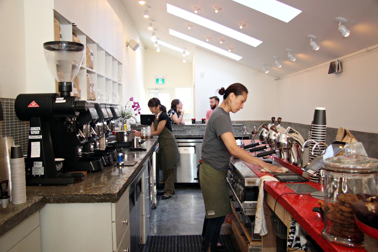 Hot Black coffee - Queen Street