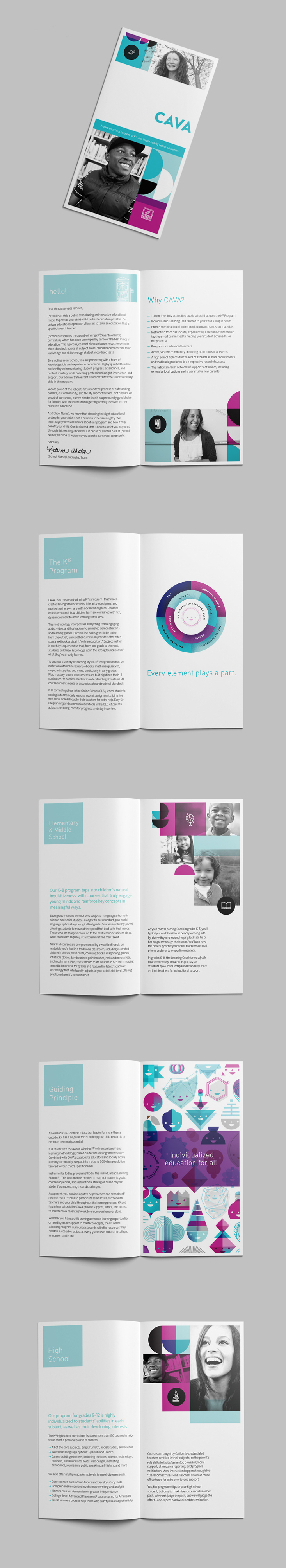 Icon Design and Book Layout  Client: K12 Inc. | Art Direction & Layout Design: Ryan McCullah