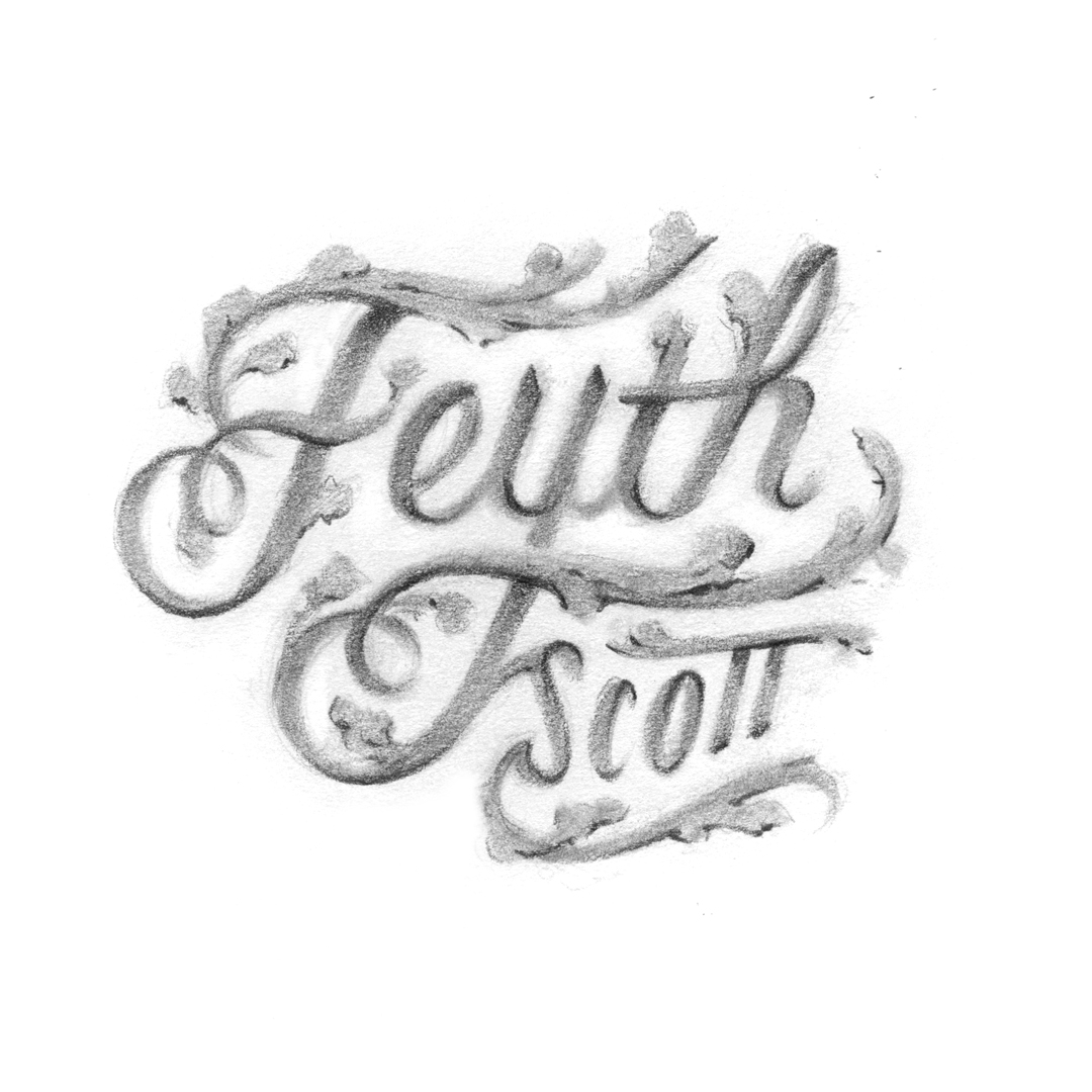 Feyth Scott Lettering by Laura Dreyer
