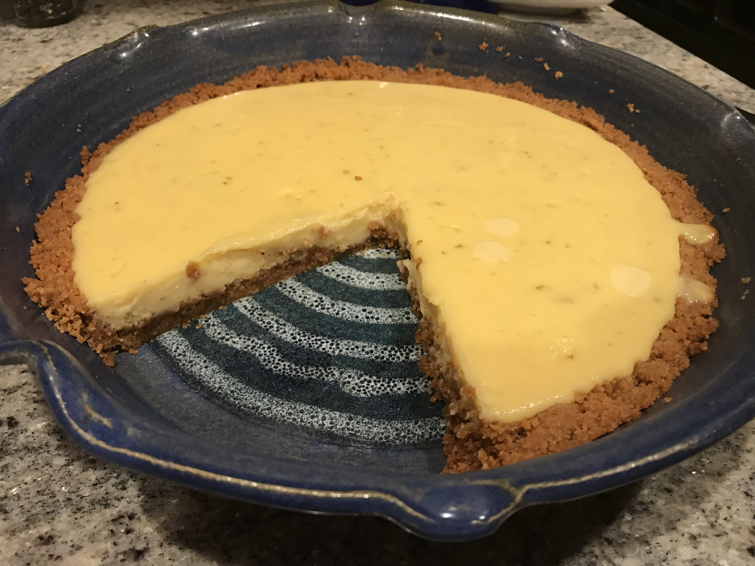 Key lime pie - https://smittenkitchen.com/2015/01/key-lime-pie/