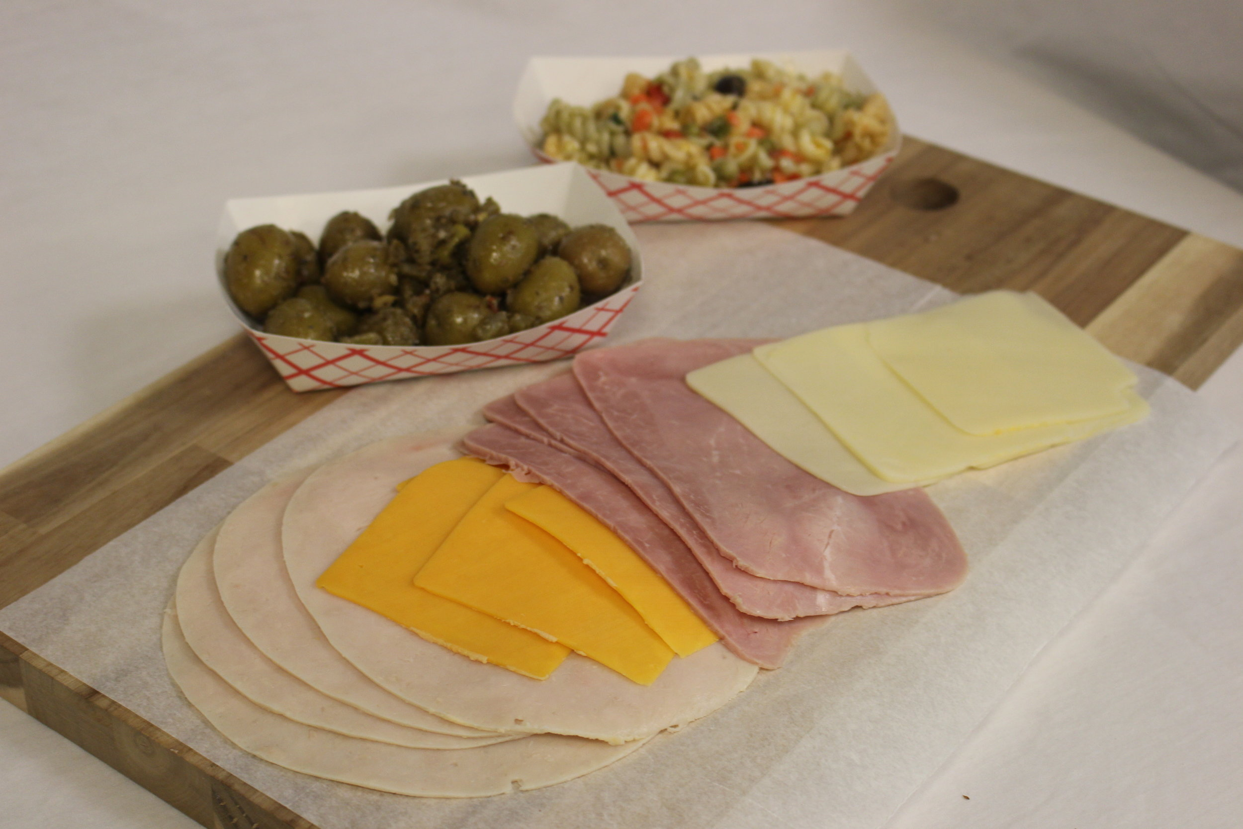 Lunch Meats, Cheeses, Salads -
