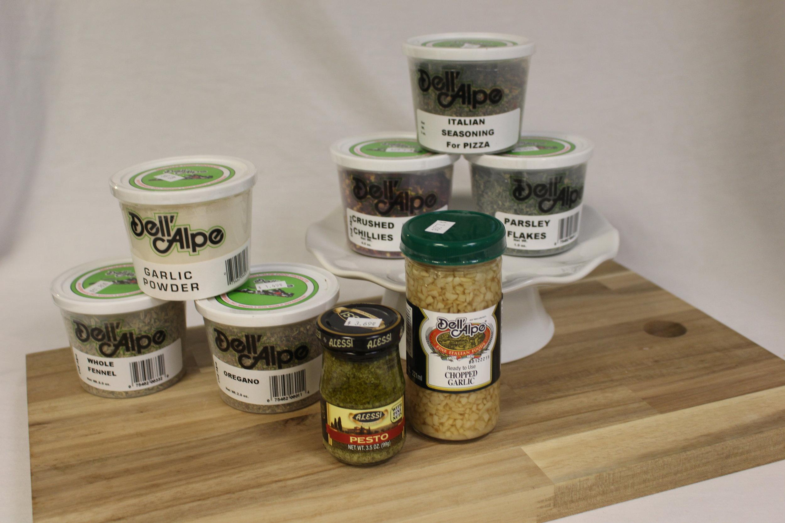 Seasonings & Spreads -