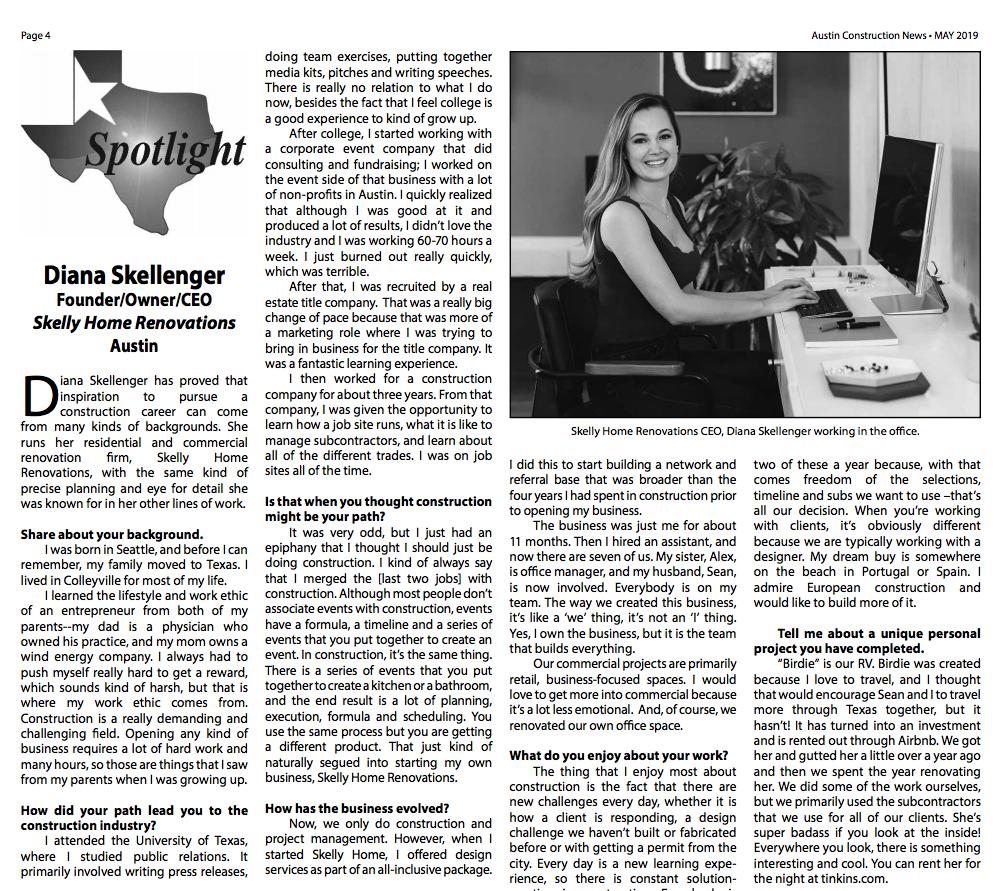 Austin Construction news - page 4