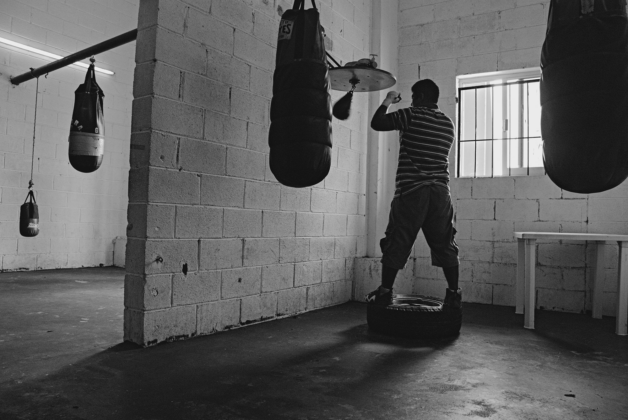 Boxing is known to be a solitary sport.