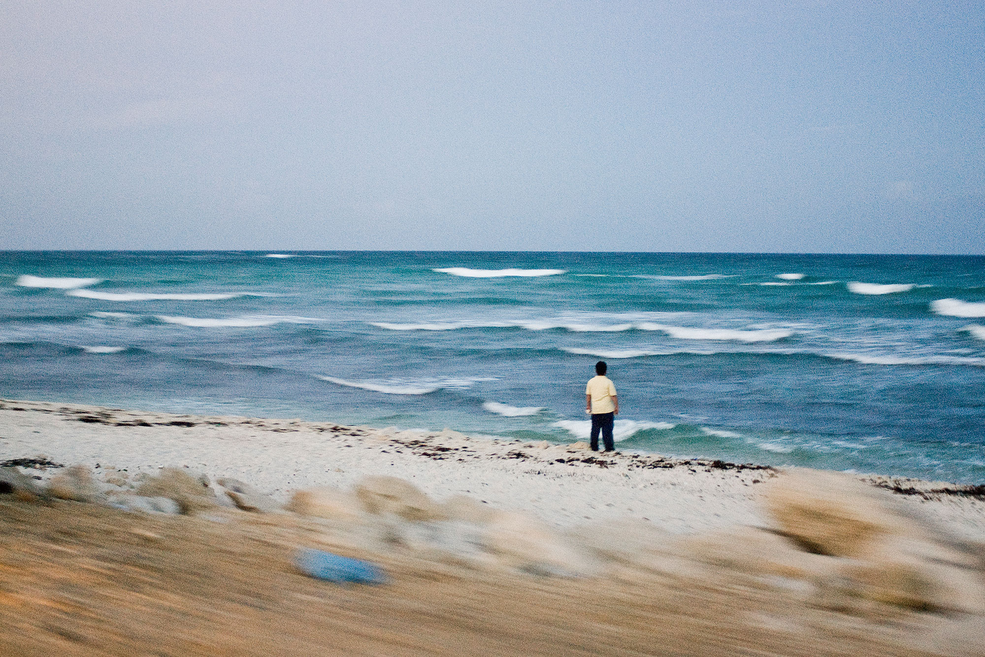 Thinker by the Ocean