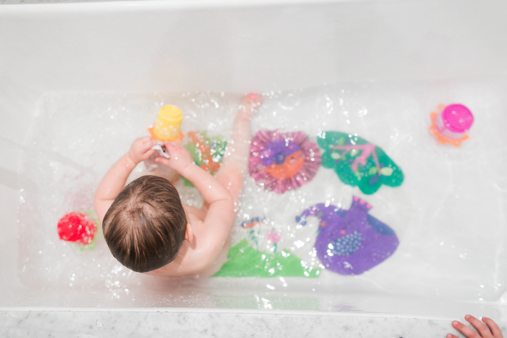 dr organic mommy bath time