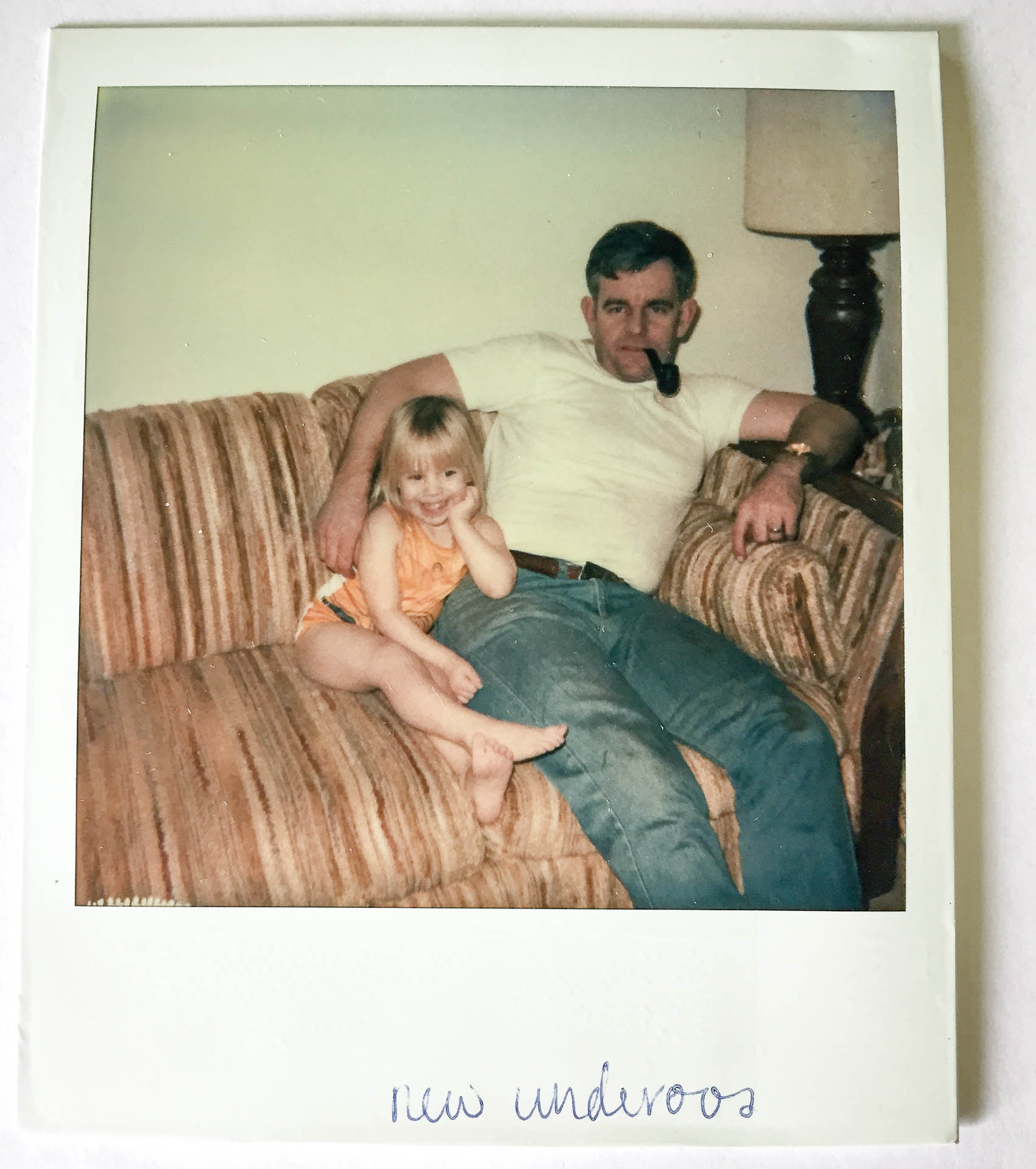 Me and my Dad - Polaroid