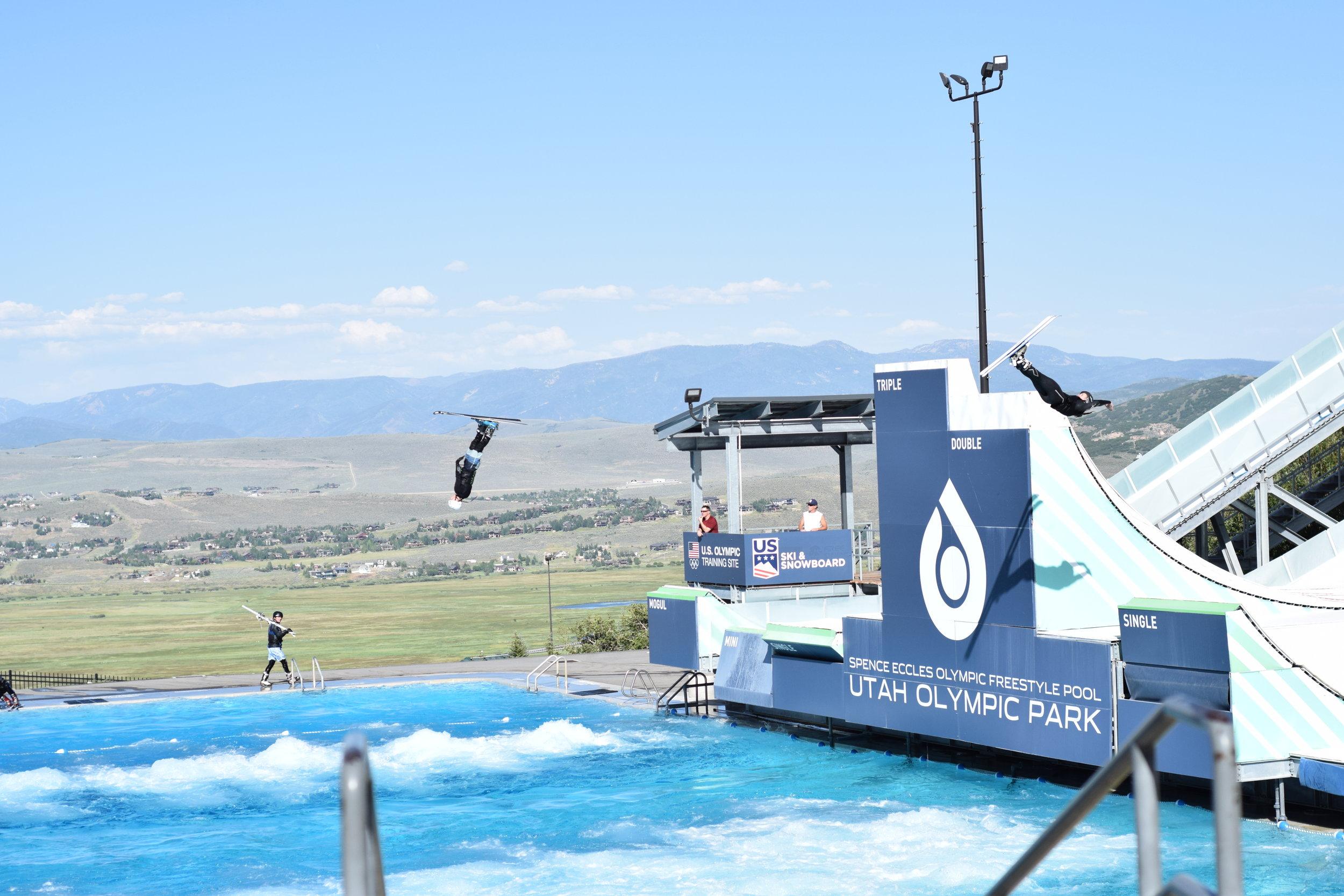 Park City, Utah. Travel Diaries Olympic Park