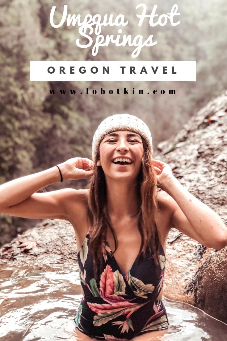 Umpqua Hot Springs in Oregon