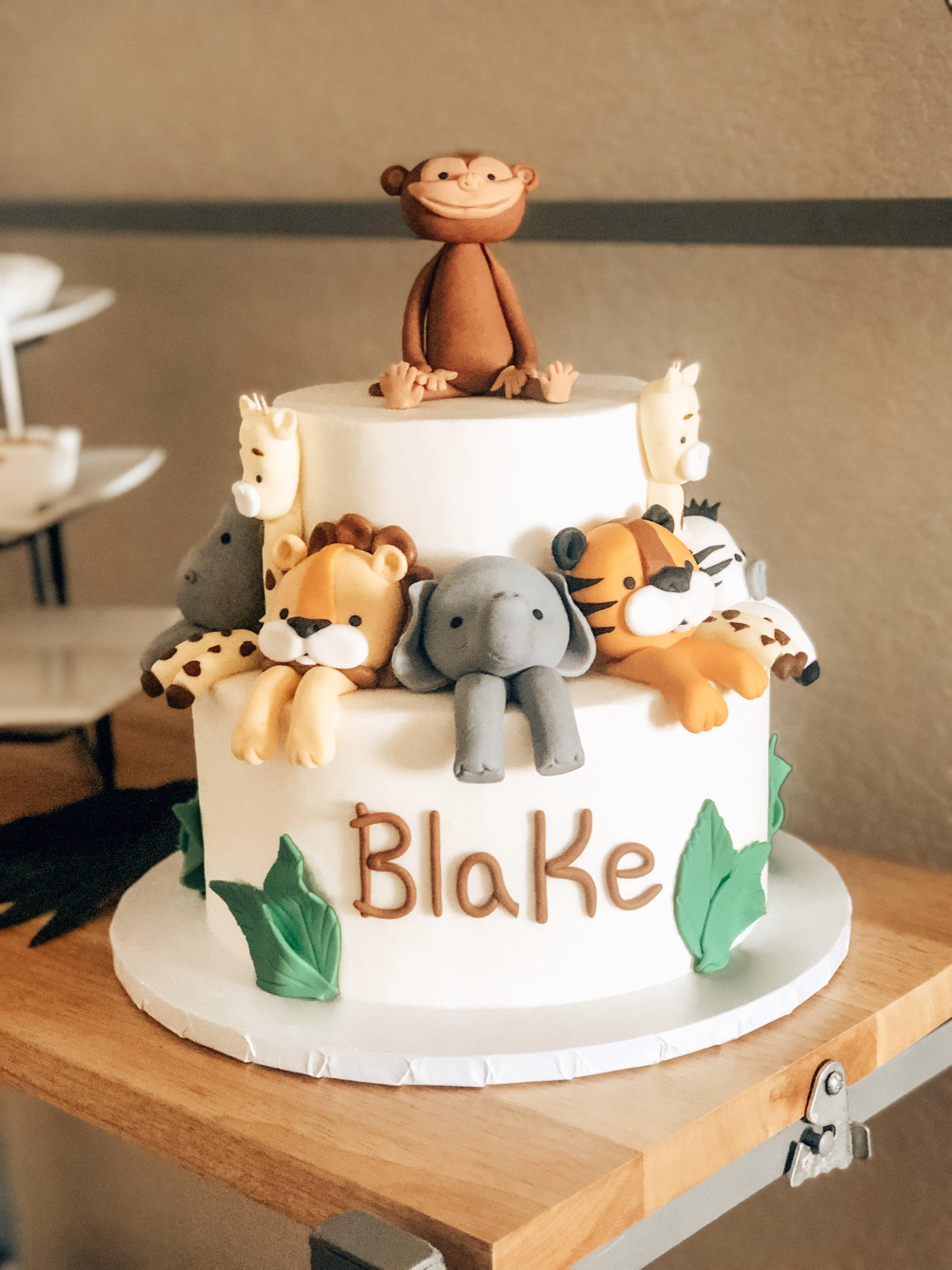Safari Themed Baby Shower