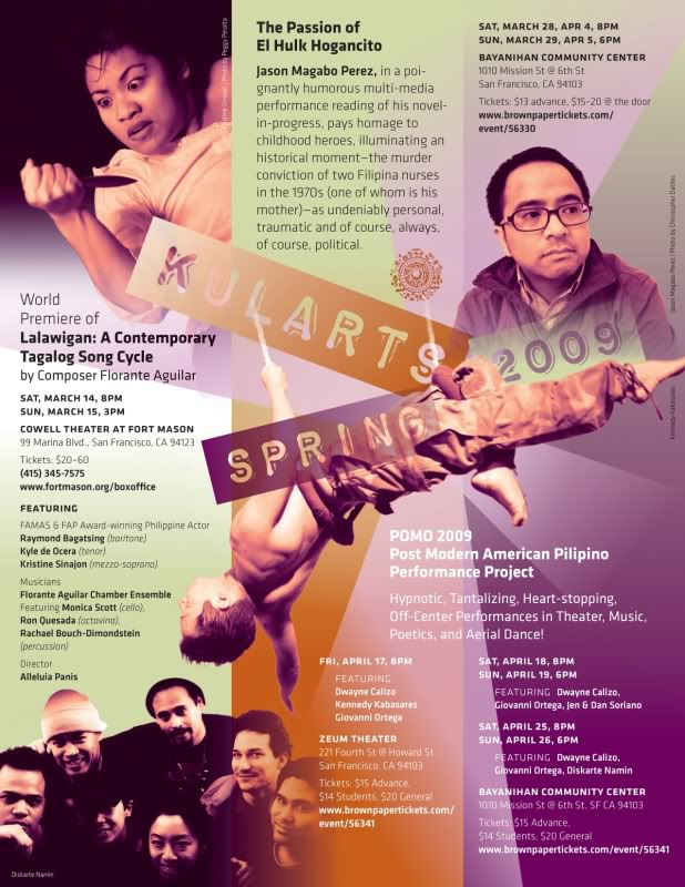 POMO: Post Modern American Pilipino Performance Project (1998-2009)  Check back for more information!