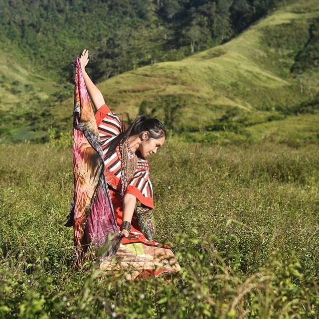Salima Saway Agra-an  (Bukidnon, Philippines)  Talaandig Culture Bearer and Soil Painter