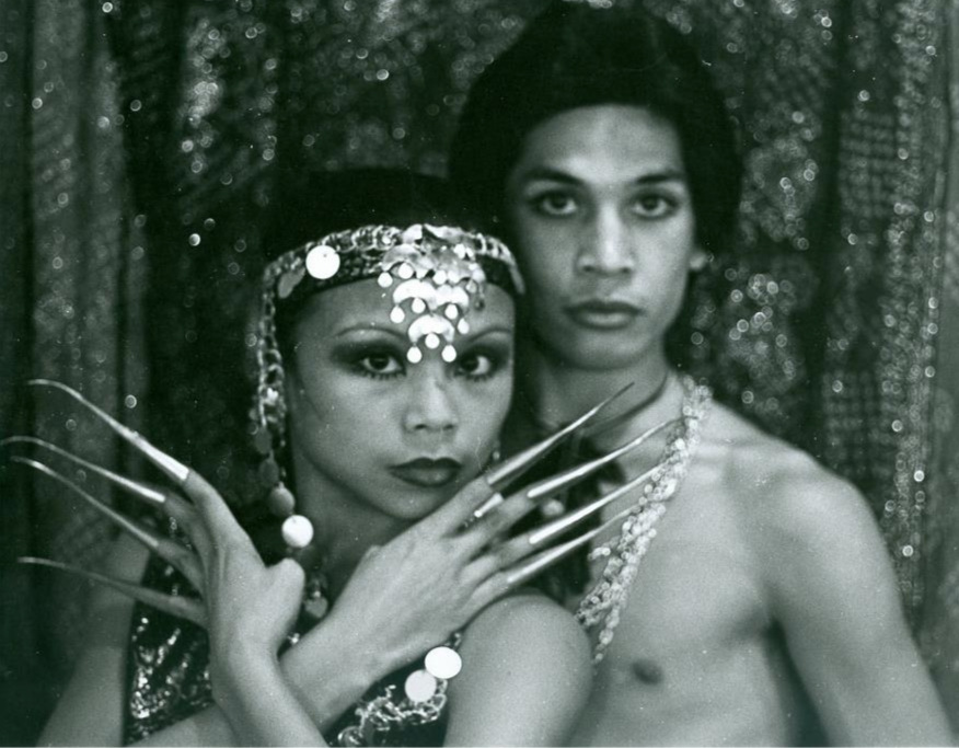 Alleluia Panis and Gregory R. De Silva of Bagong Diwa Dance Company in 1976