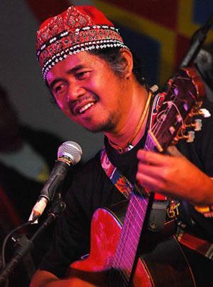 Datu Rodelio 'Waway' Linsahay Saway  (Bukidnon, Philippines)  Tribal Leader, Composer, Singer, Instrument Maker, and Visual Artist