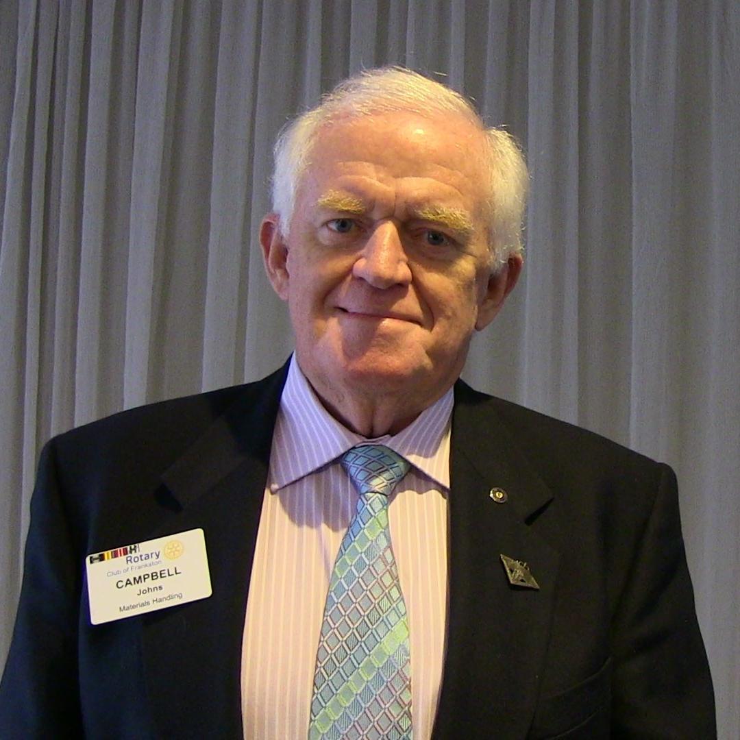 Campbell Johns Treasurer
