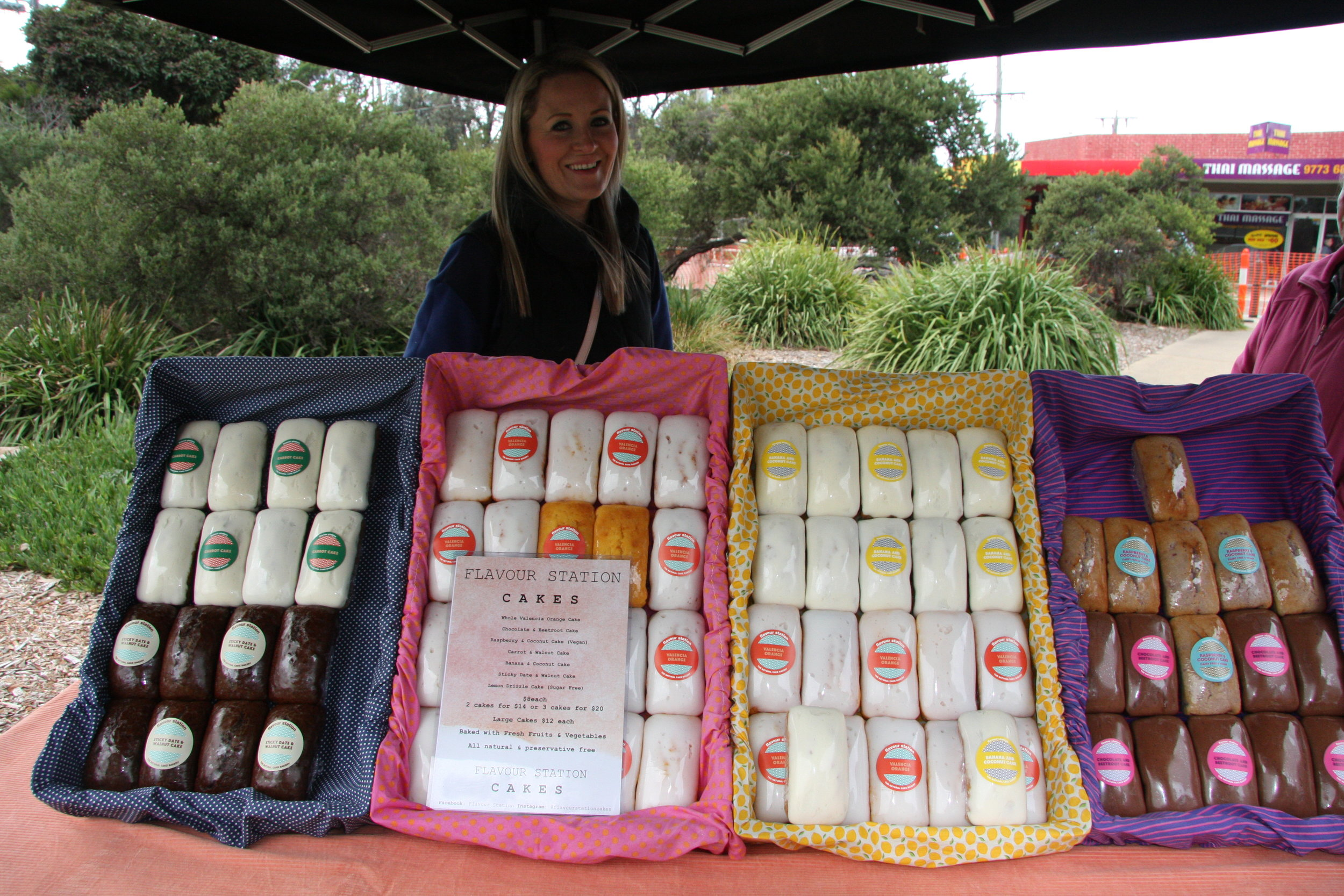 Seaford Farmers Market_Flavour Station Cakes.JPG