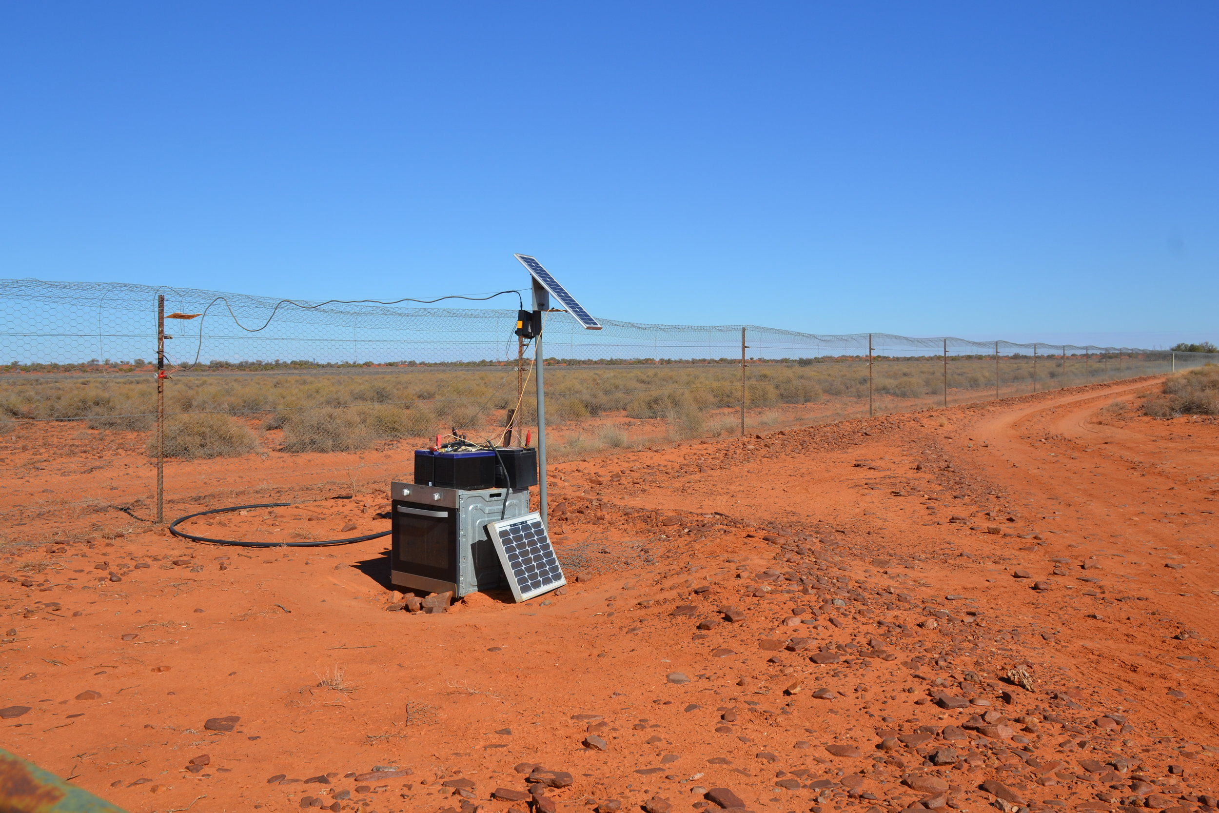 In 2015 the RCF donated the electric fence for the Main Enclosure.