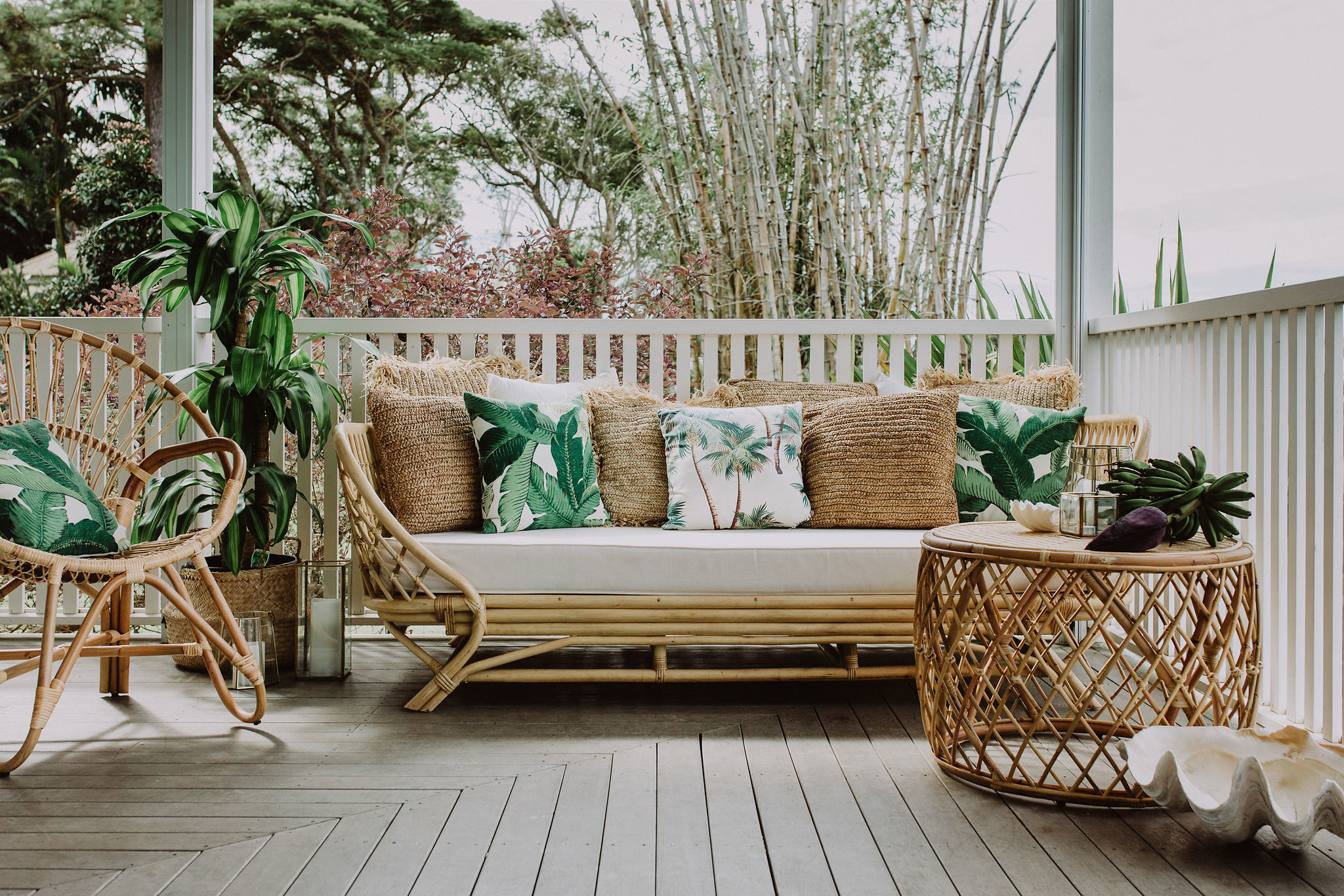 Rattan Day Bed | $170 each | Qty 3