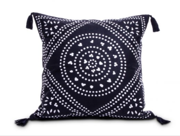 Black Mandala Cushion I $7.50ea I Qty 4