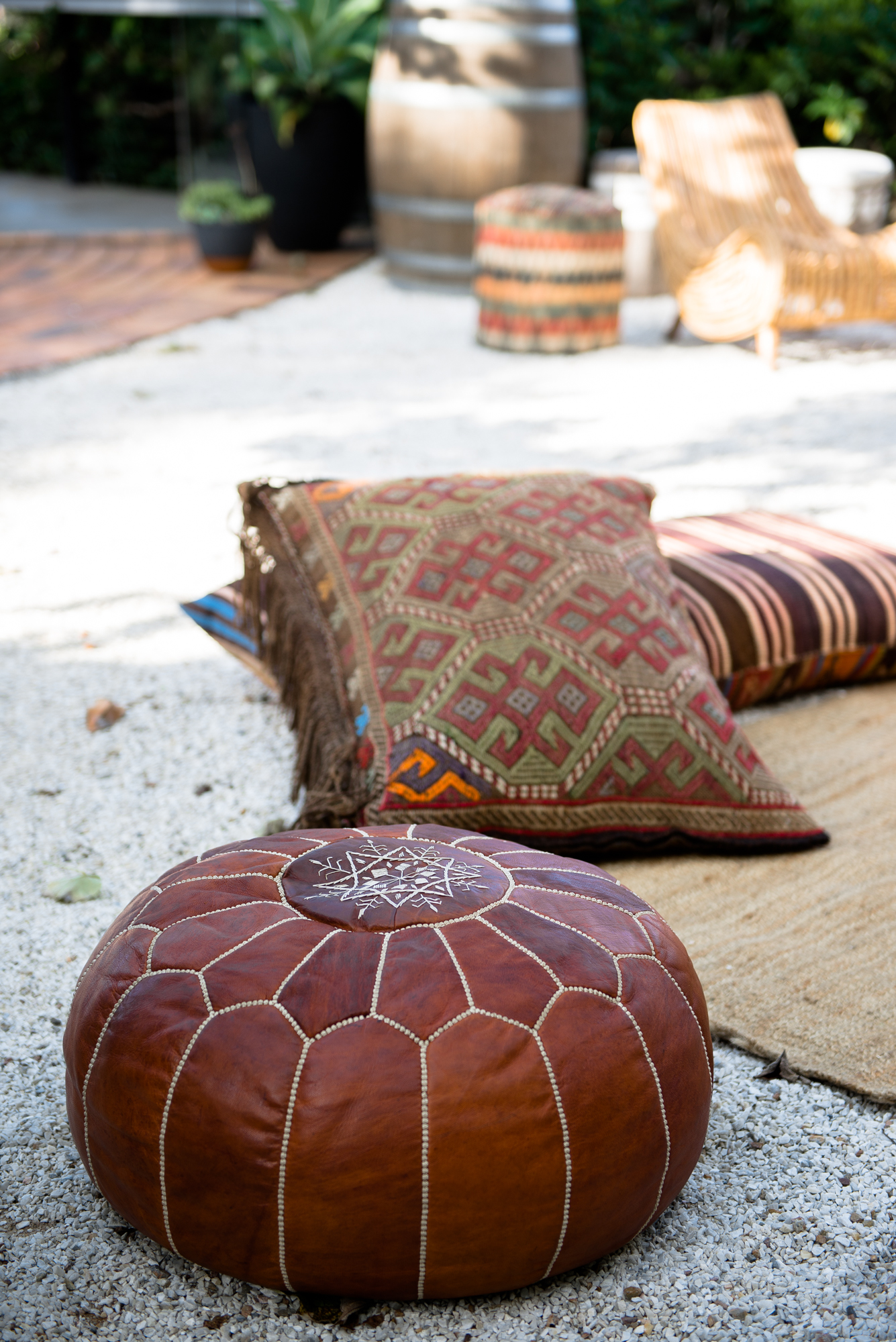 Kilim Floor Cushions