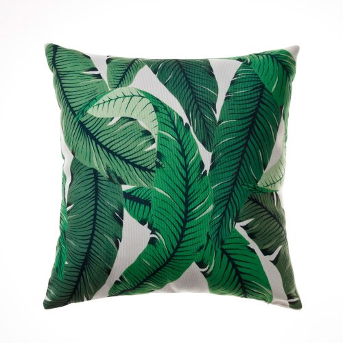 Tropical Banana Leaf Cushion | $7.50ea | Qty 8