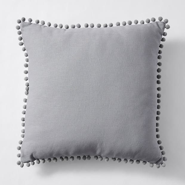 Cushion - grey pom pom.jpg