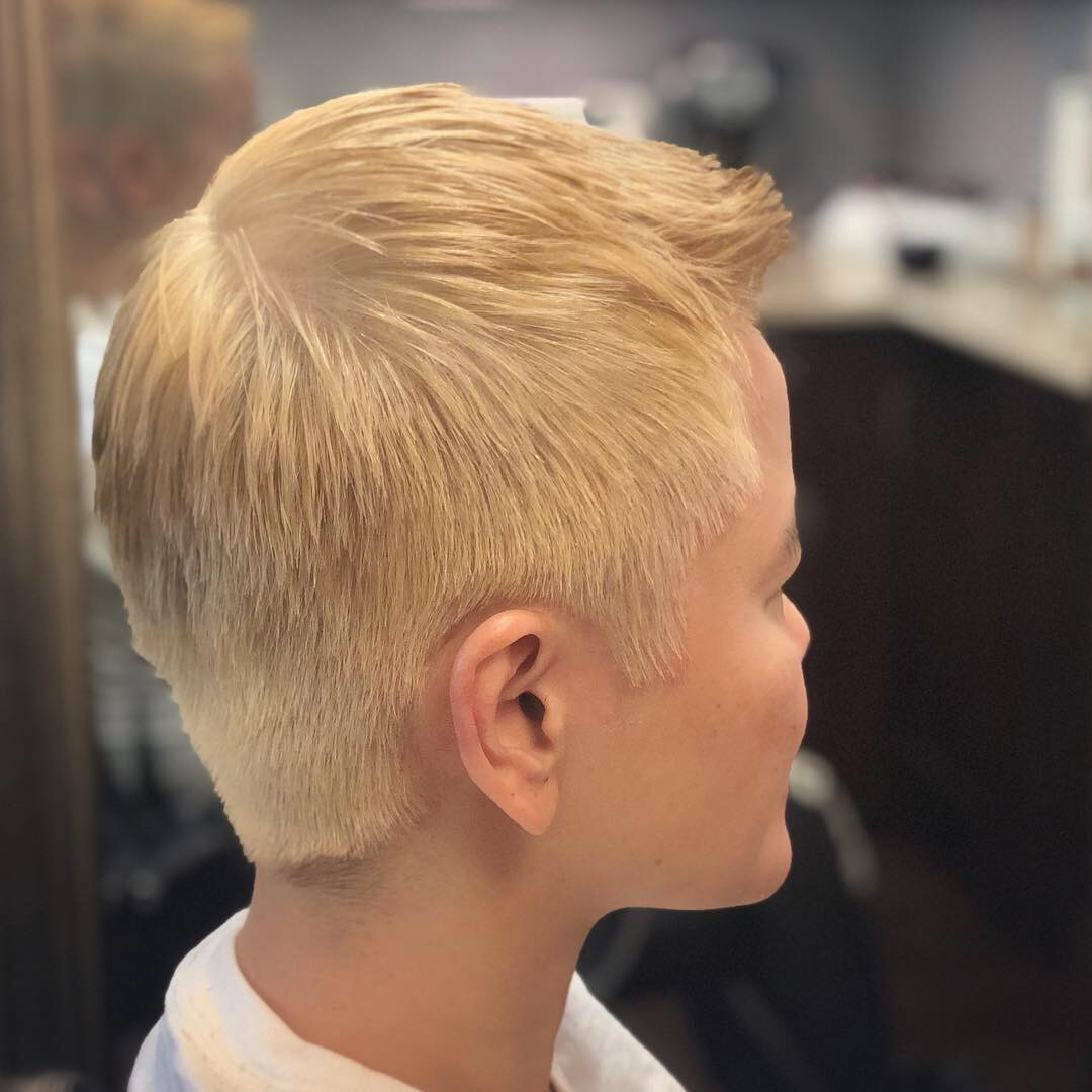 Haircut & hair lightening by brittany