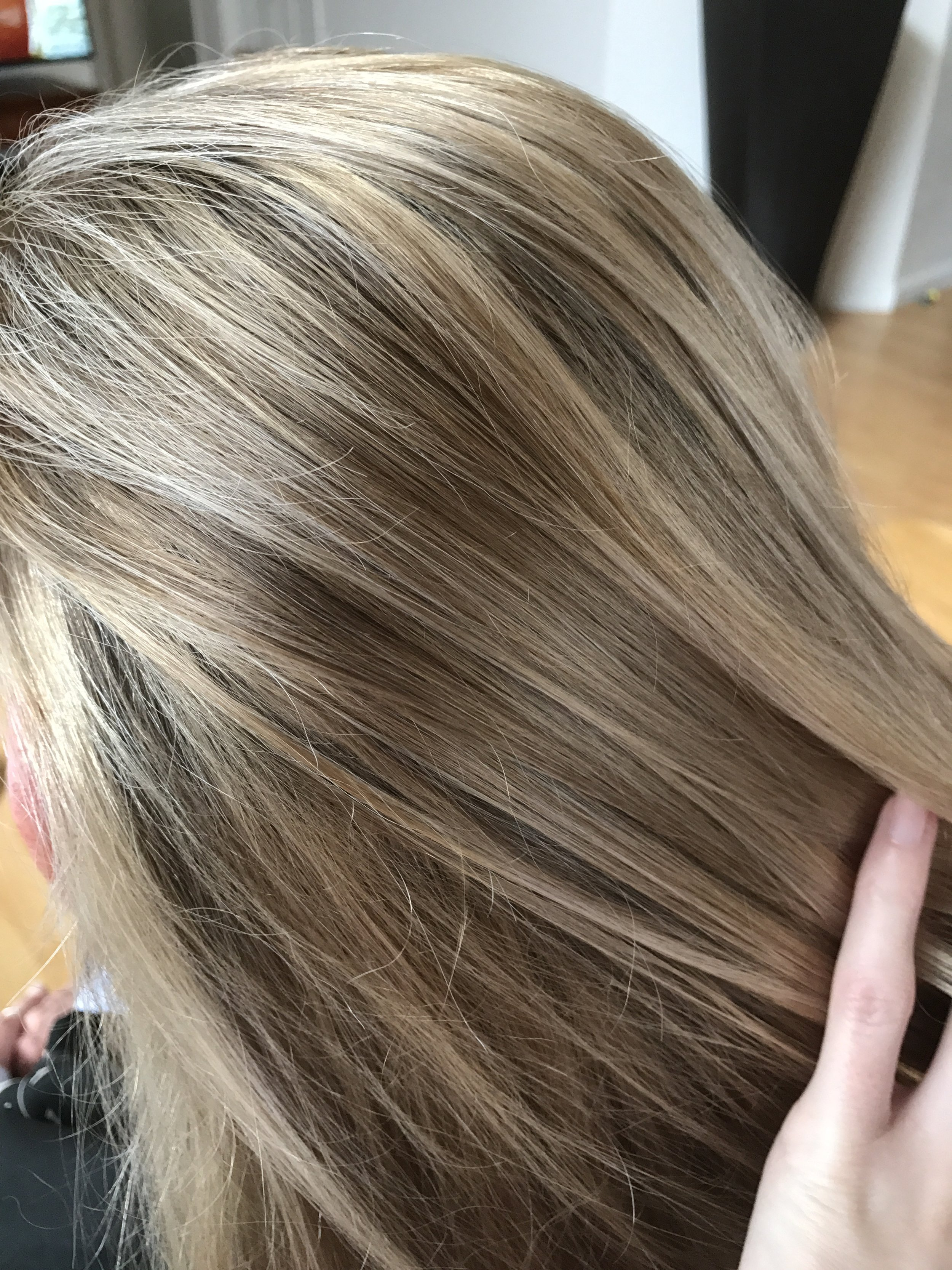 Natural looking highlight blend by brittany
