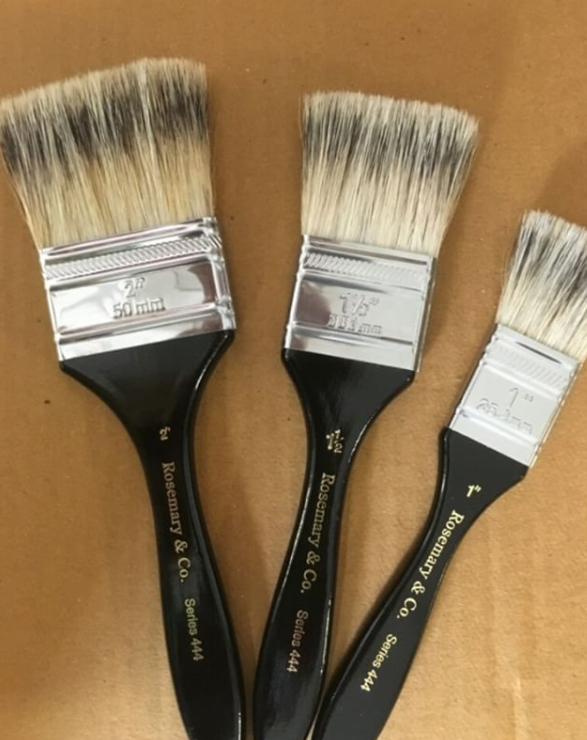 Rosemary varnishing brushes.png