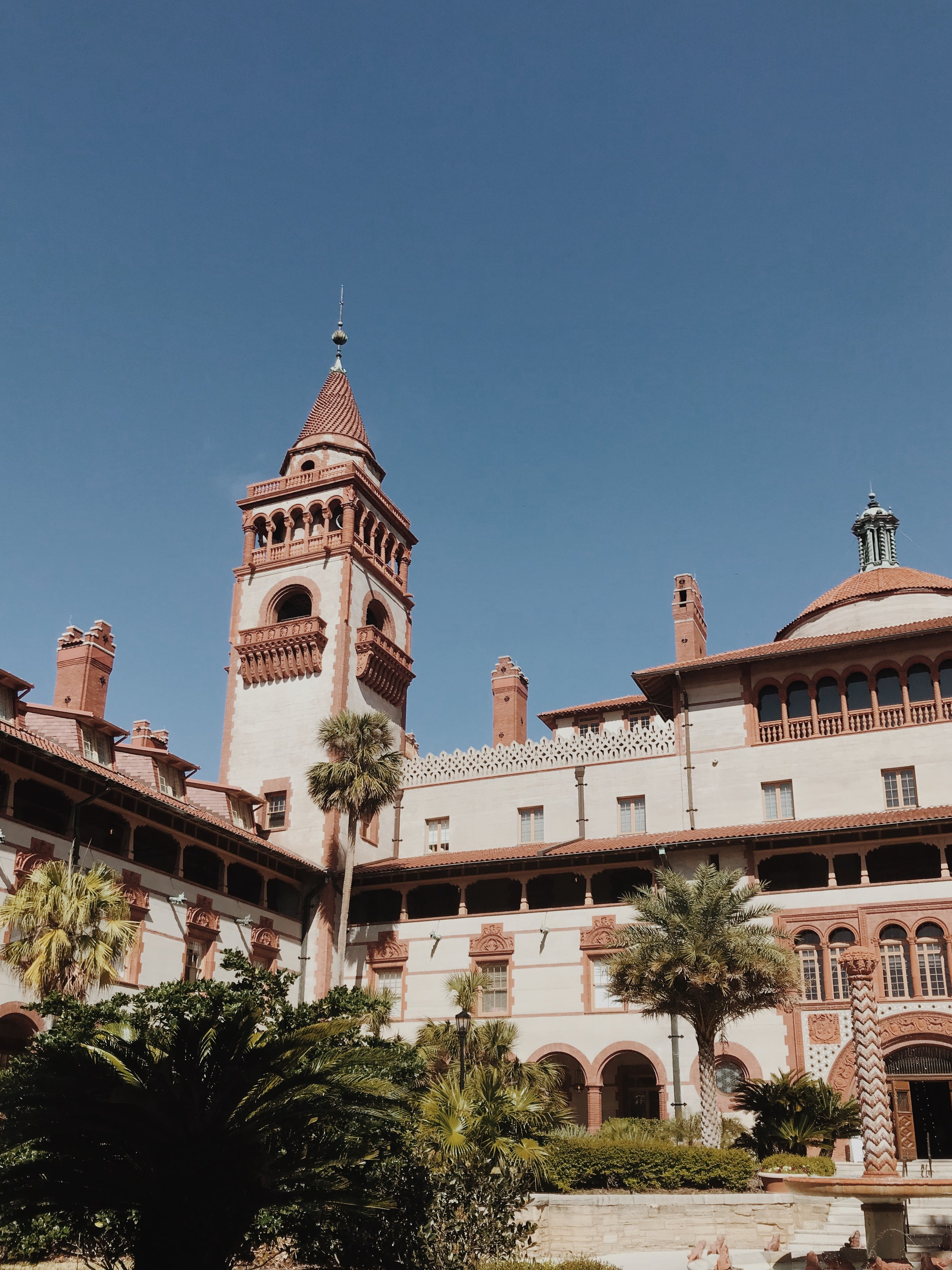 Must see: Flagler College - Flagler College has been rated one of the prettiest college campuses in the WORLD. It's safe to say, you need to stop in the main courtyard of Ponce Hall (formerly the Ponce de Leon hotel, founded by Henry Flagler) and just take in the beauty of the building.