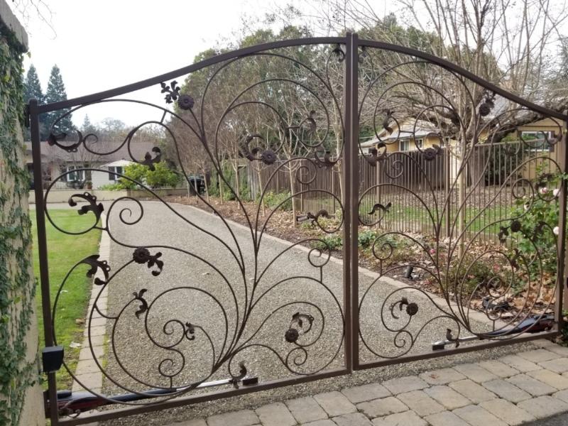 Beautiful Metal Driveway Gates