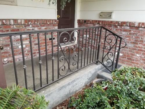 Front Porch Metal Railing