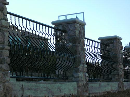 Decorative Metal Rails