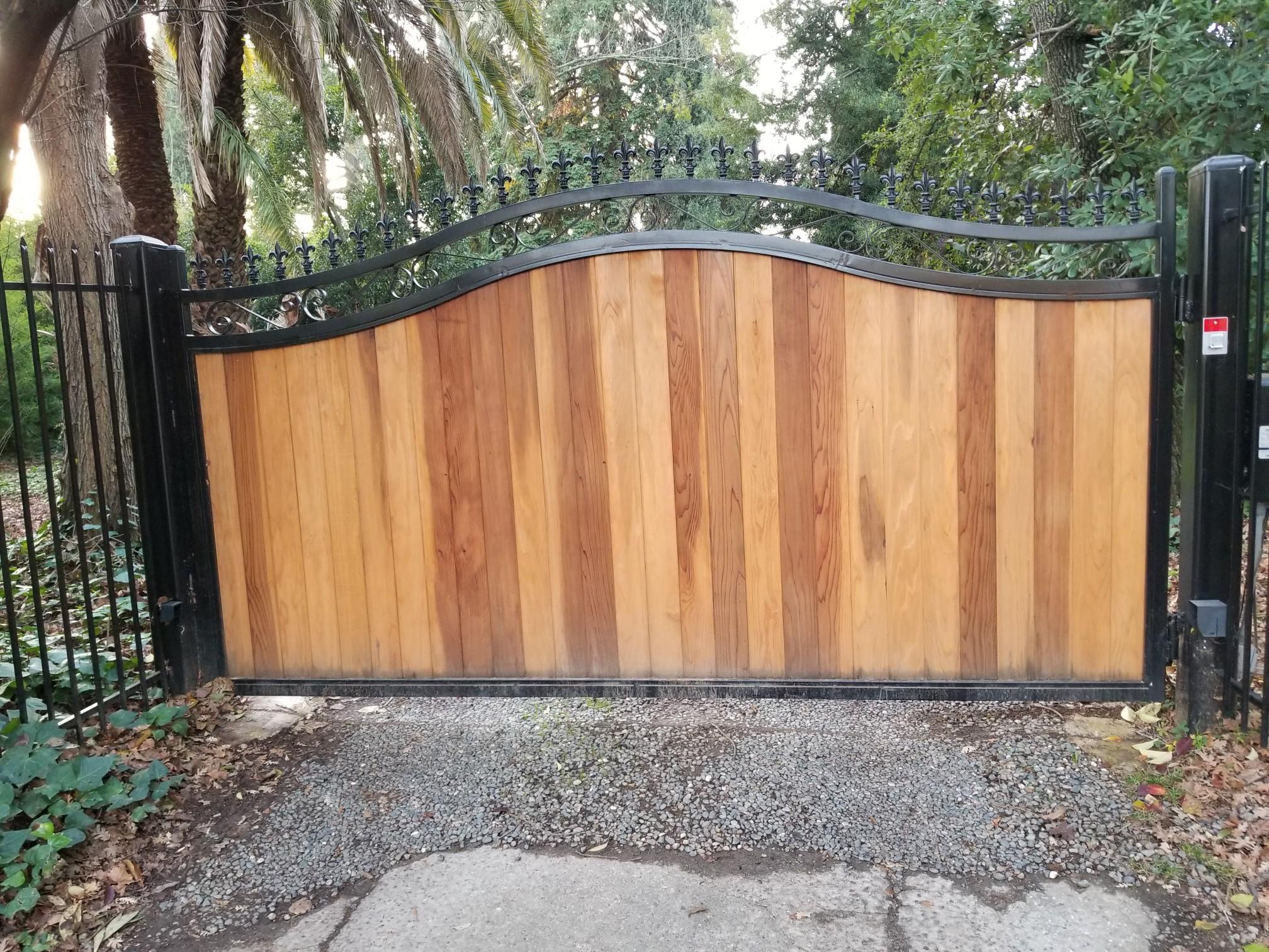 Iron/Metal Yard Gate