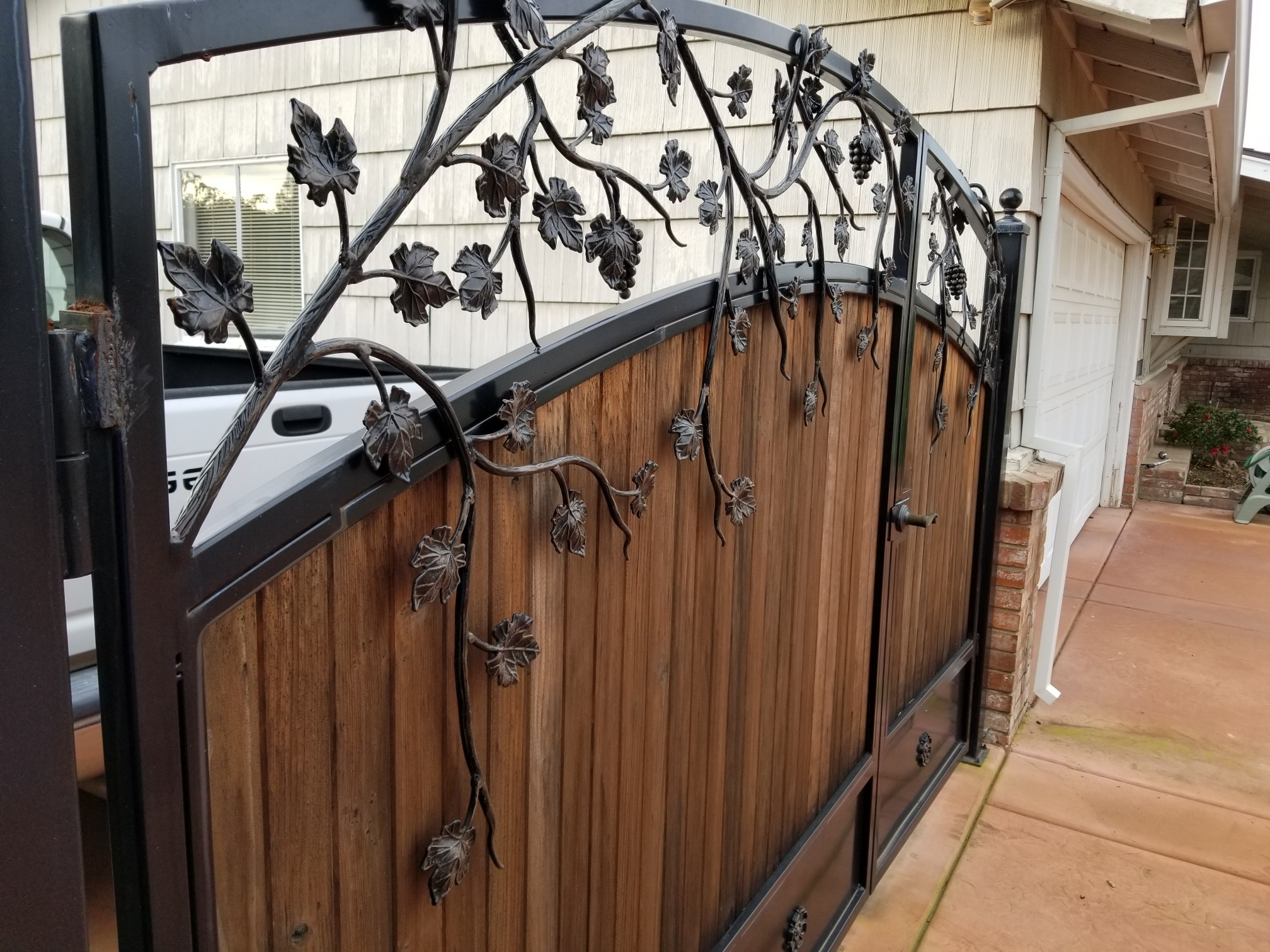 Handcrafted Metal Gate